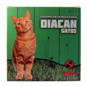 Coleira Desparasitante para gato