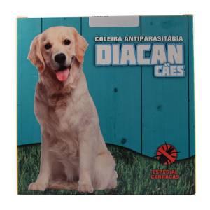 Coleira antiparasitária para cão