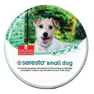 Coleira Antiparasitária Seresto para cão