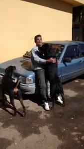 Rottweiler para Cruza