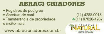 ABRACI CRIADORES RG DE PEDIGREE E CANIS