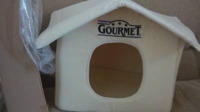 Casa GOURMET para gato ou pequeno cão NOVA